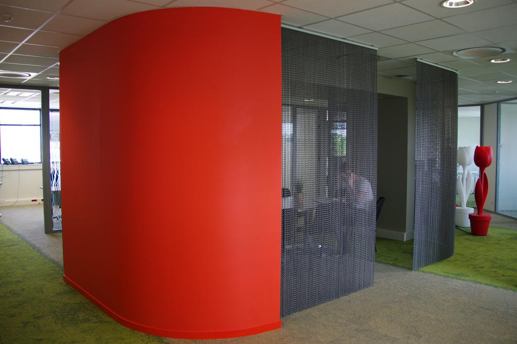 Aménagement intérieur Bureaux NEOSOFT Rennes