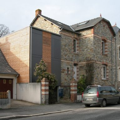 Extension restructuration maison individuelle Rennes