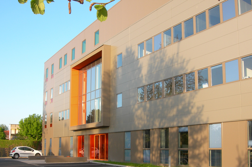 Immeuble bureaux Les Alizés Rennes