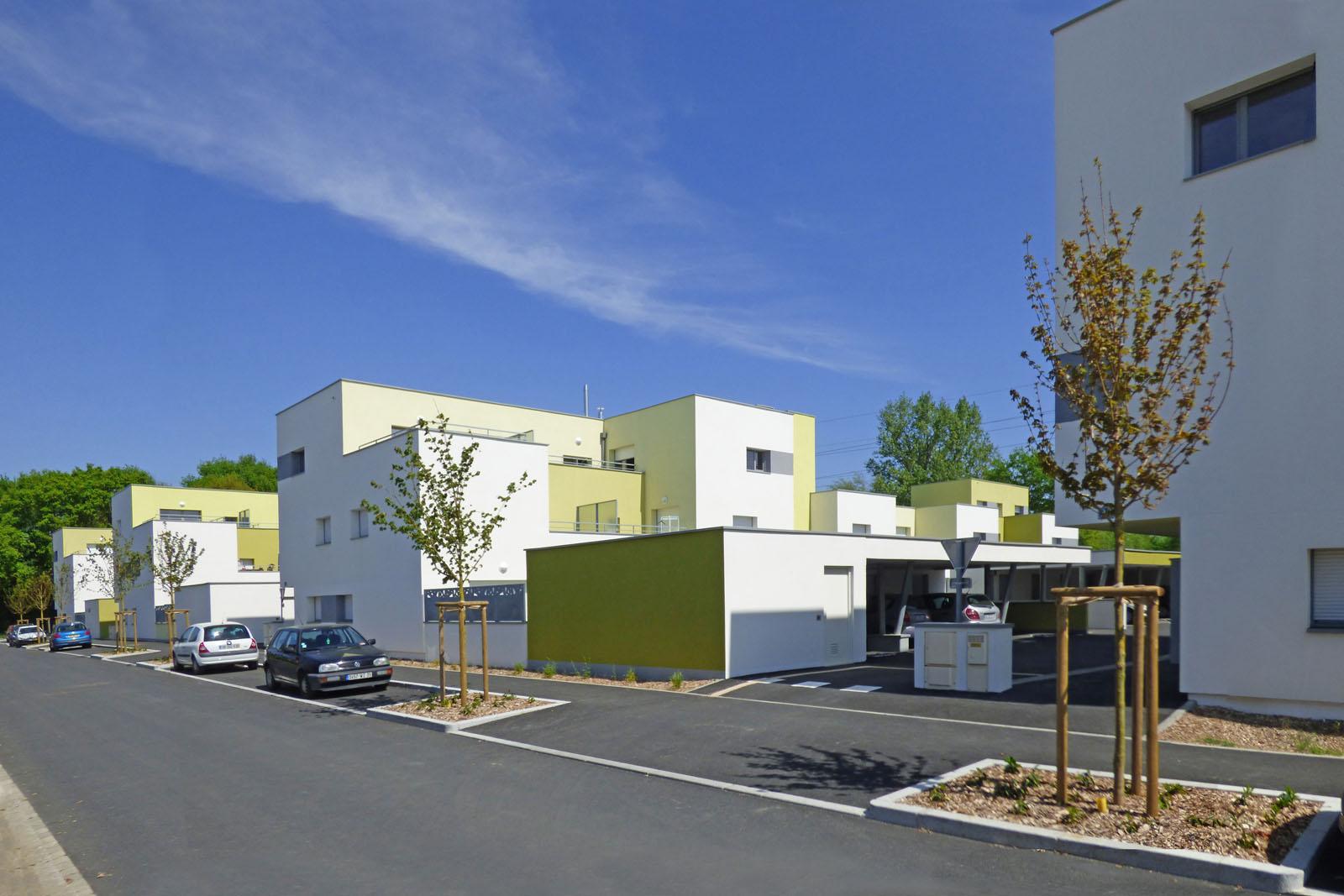 Logement collectif intermédiaire Iles Chausey Rennes