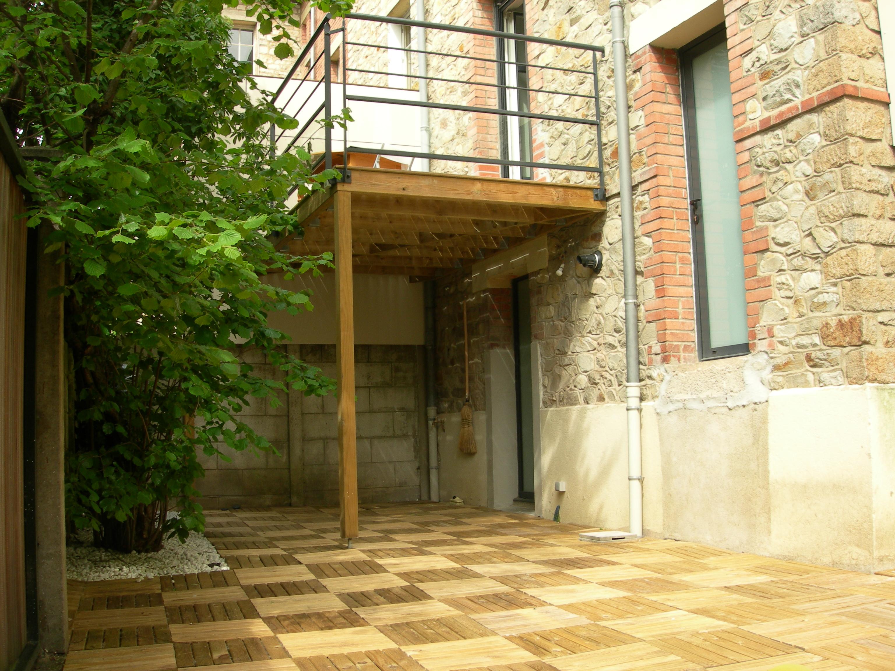 Extension Maison Individuelle Rennes Terrasse Haute A Dao