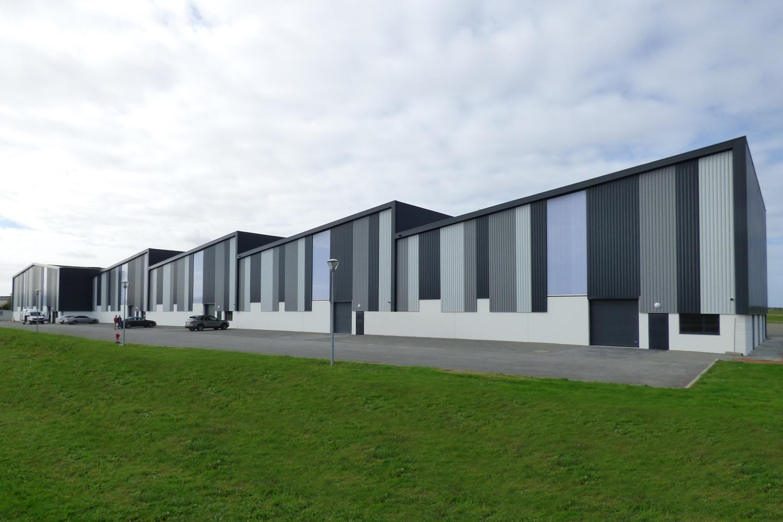 Hangars pour avions Aéroport Entrammes Laval