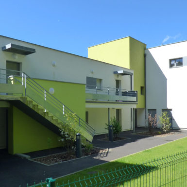 Logement collectif intermediaire Iles Chausey Rennes