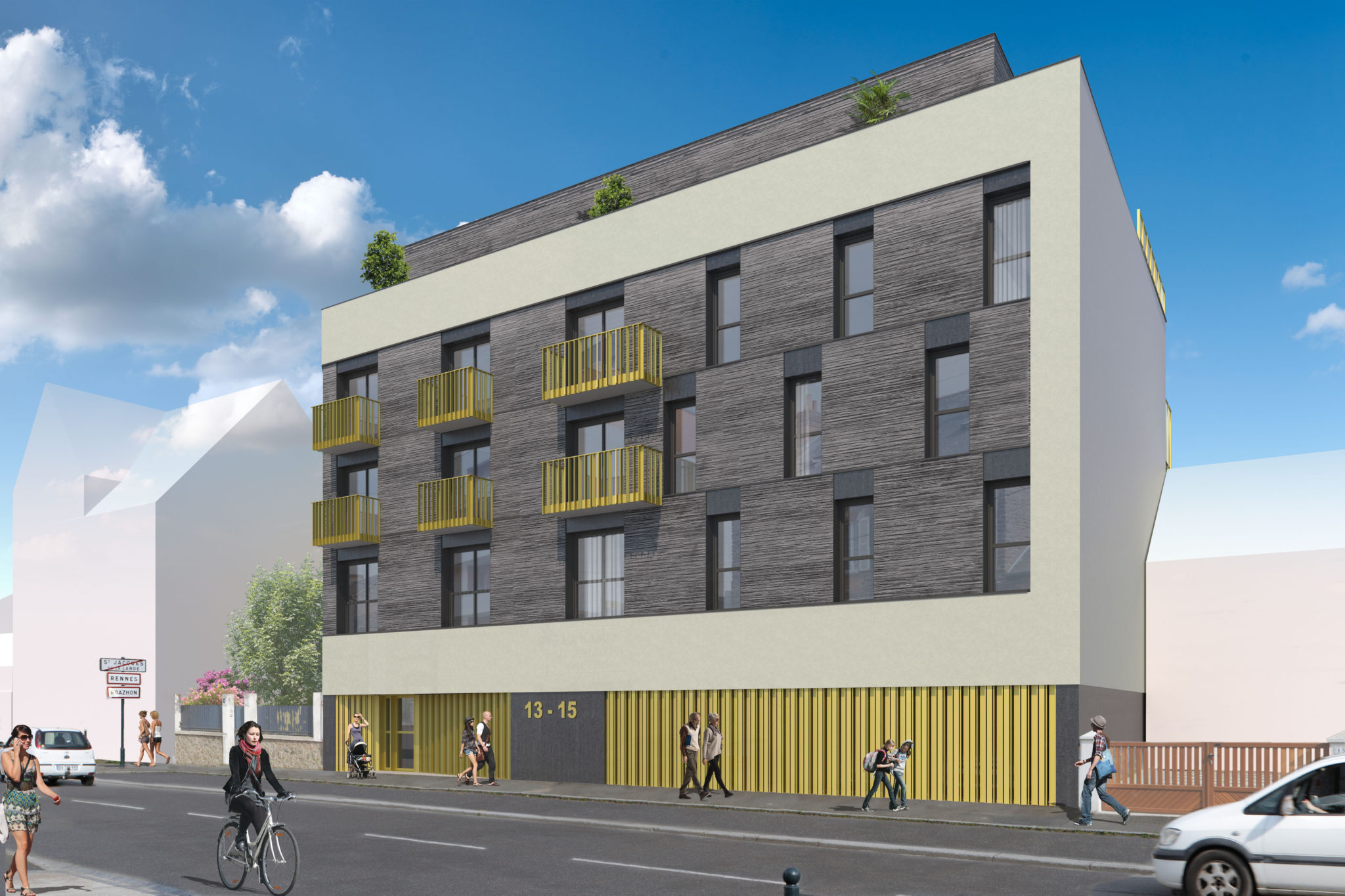 Logement collectif NOVAREN Saint-Jacques-de-la-Lande