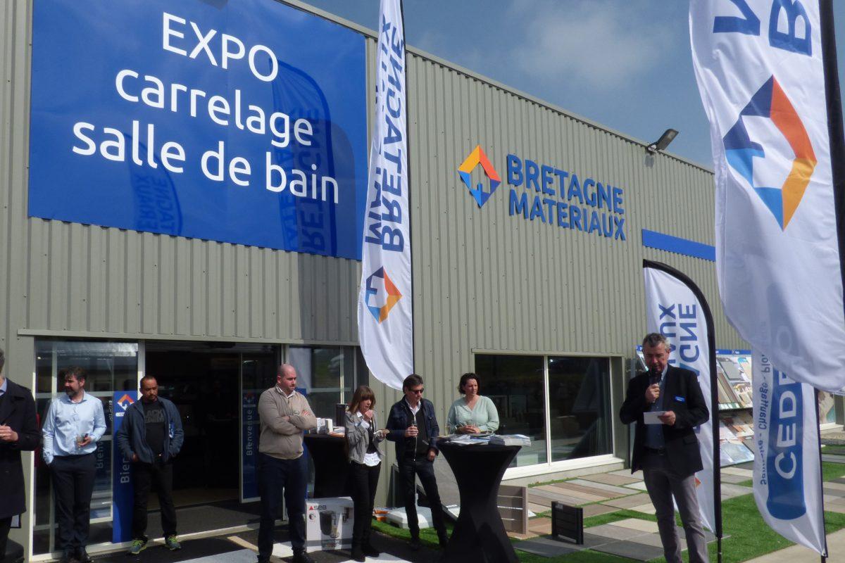 Inauguration de l'agence Bretagne Matériaux de Lannion (22)