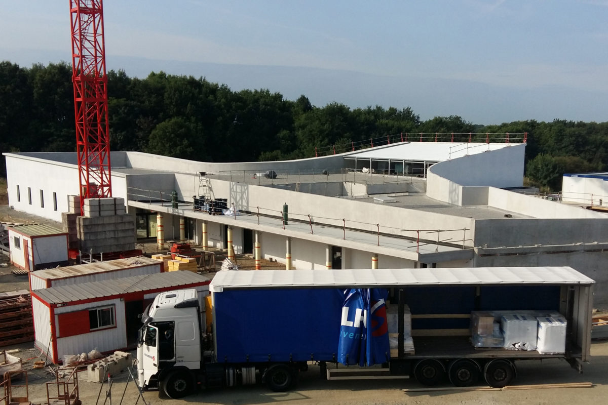 Suivez le chantier du collège Jean Monnet de Vertou (44)