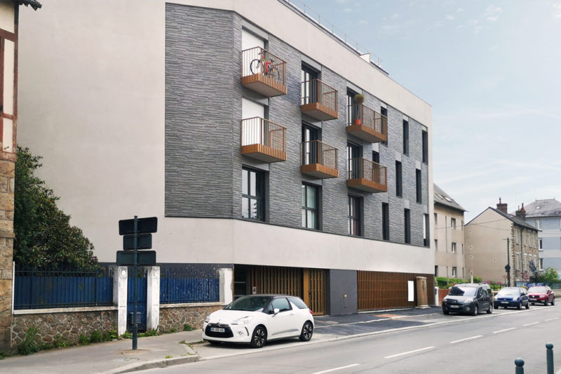 Logement collectif NOVAREN', Saint-Jacques-de-la-Lande (35)