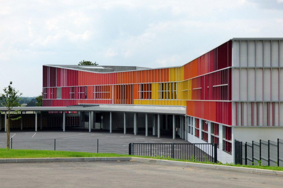 Remise des clés du collège Jean Monnet de Vertou (44)