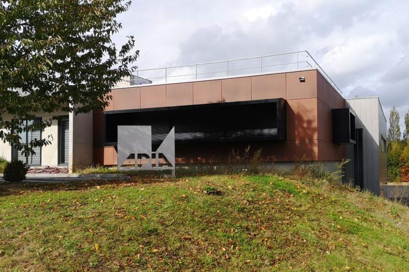 Extension du bâtiment d'activités APIA , LE RHEU (35)